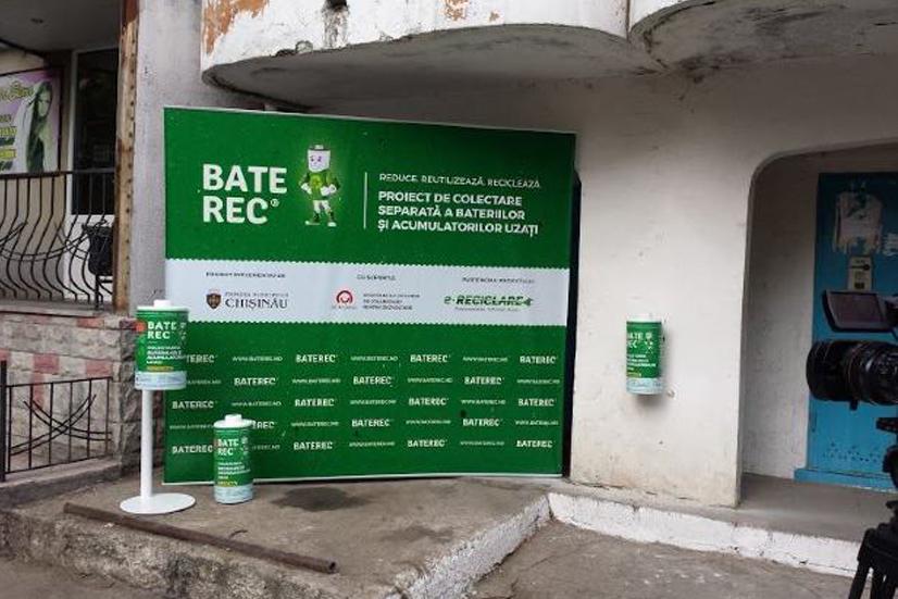 Campania municipală de colectare a bateriilor uzate - Baterec
