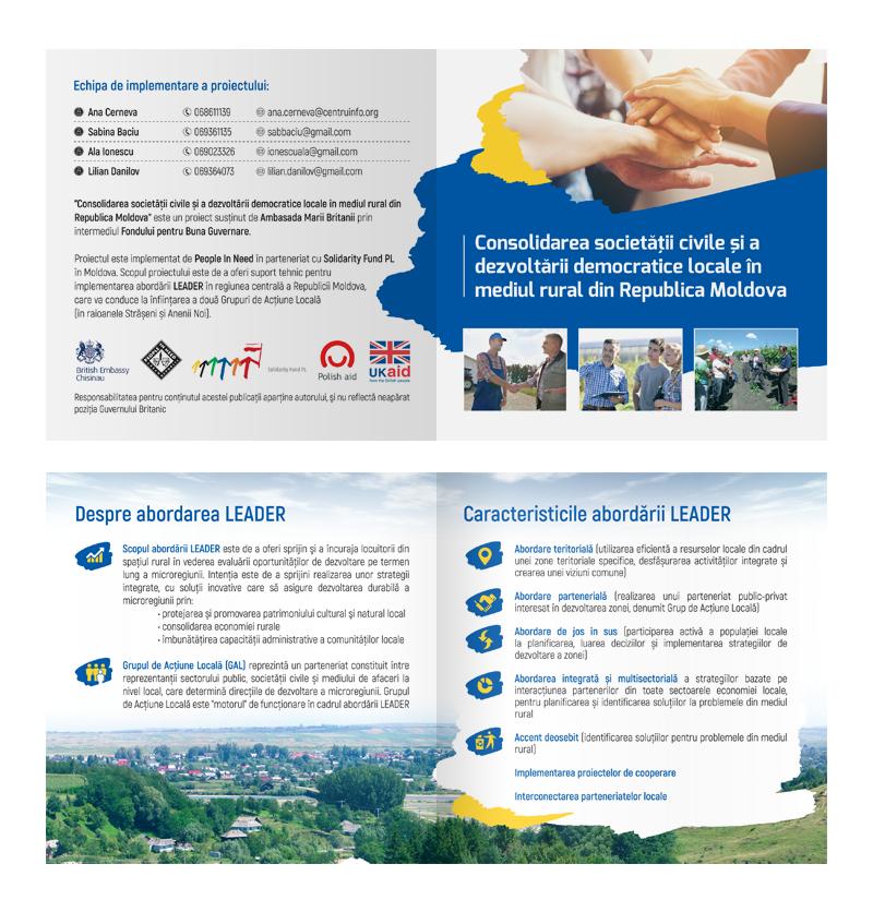 Consolidarea societății civile și a dezvoltării democratice locale în mediul rural din Republica Moldova