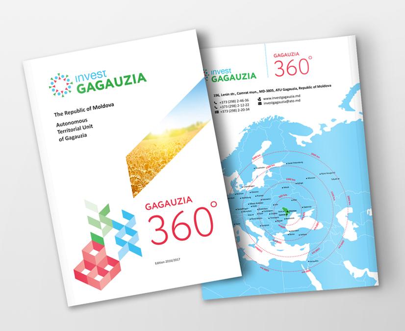 Elaborarea identității Invest Gagauzia și produselor editoriale