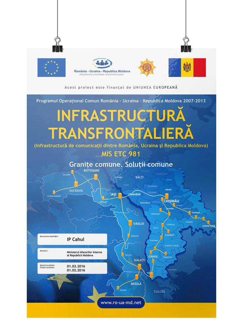 """Proiectul """"Infrastructura transfrontalieră"""""""