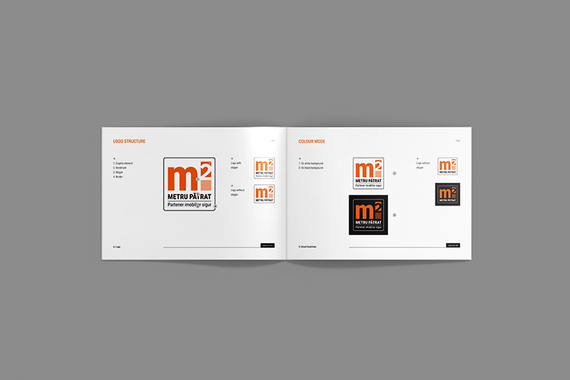 Create logotype and corporative identity