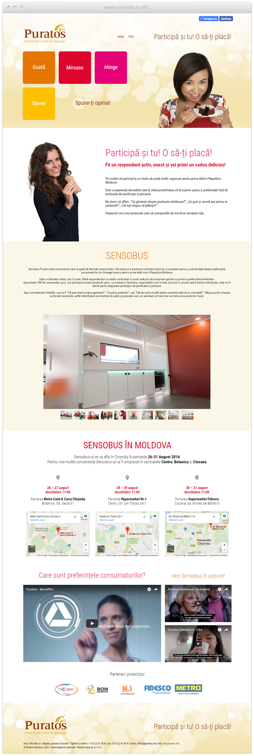 Promovare online Sensobus