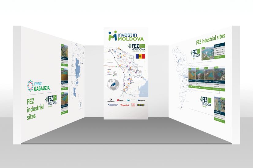 Elaborare design stand - Real Expo 2017, München, Germania